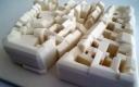 Stadtmodell aus dem 3D Drucker © kubikwerk